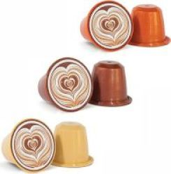 Caffeluxe Flavoured Coffee Selection Capsules 30 Pack - Compatible With Nespresso & Capsule Coffee Machines