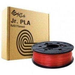 Xyz Pla Filament Clear Red Jr