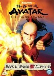 Avatar The Last Airbender Book 1 Water Volume 4 DVD