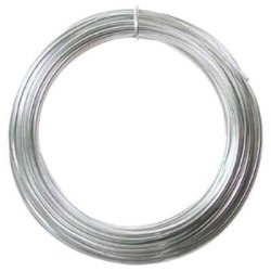 Beadsmith Aluminum Wire 12 Gauge 39' Coil-silver
