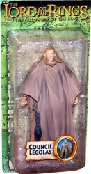 Council Legolas From The Lord Of The Rings: The Fellowship Of The Ring Action Figure By Toy Biz
