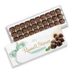 Russell Stover Candies Russell Stover French Chocolate Mints Box 10 Ounce