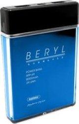 Remax Beryl Powerbank 8000MAH Blue RPP-69