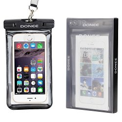DONEE Universal Waterproof Case IPX8 Cellphone Dry Case Pouch With Sensitive Pvc Touch Screen For IPHONE7 7PLUS 6S 6 6S Plus Huawei Honor 8 P10 MATE9 Samsung Galaxy S8 S7