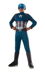 Rubies - Domestic Rubie's Costume Captain America: Civil War Deluxe Captain America Costume Large