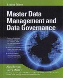 MASTER DATA MANAGEMENT AND DATA GOVERNANCE, 2 E
