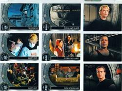 Stargate SG1 Season 10 Trading Card Base Set