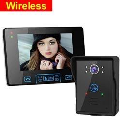 2.4G Wireless Door Phone Doorbell Intercom System HD Digital Camera N