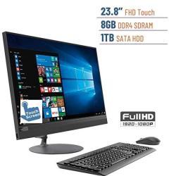 2019 Lenovo Ideacentre Business 520 23.8 Touchscreen Fhd 1920X1080 All-in-one Desktop PC Amd A12-9720P 2.7GHZ 8GB DDR4 1TB Hdd D
