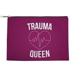 CafePress - Trauma Queen - Makeup Pouch