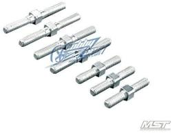 USA Mst Xxx-r Lightweight Turnbuckle Set Silver 210274S