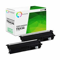 Tct Premium Compatible Toner Cartridge Replacement For BrOther TN-436 TN436BK Black Super High Yield Works With BrOther HL-L8260CDW L8360CDW MFC-L8610CDW L8900CDW Printers 6 500