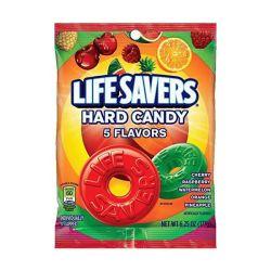 Mars Lifesavers Hard Candy 5 Flavour Peg Bag 177G