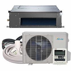 Senville SENA-24HF ID Concealed Duct MINI Split Air Conditioner Heat Pump 24000 Btu Off-white