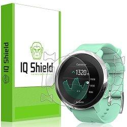 IQ SHIELD Suunto 3 Fitness Screen Protector Liquidskin Full Body Skin + Full Coverage Screen Protector For Suunto 3 Fitness HD Clear Anti-bubble Film