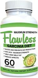 USA Flawless Garcinia Cambogia 100% Pure Garcinia Cambogia Extract With Hca Extra Strength All Natural Appetite Suppressant Carb Blocker Weight Los