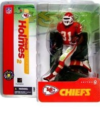 Mcfarlane Toys Nfl Sports Picks Series 9 Action Figure Priest Holmes Kansas City Chiefs Red Jersey