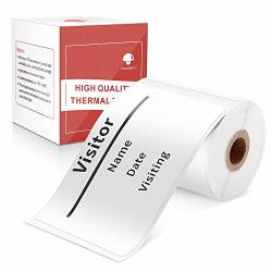 "Multi-purpose Square Self-adhesive Label For Phomemo M110 Label Printer 1.97""X3.15"" 50X80MM 100 Labels roll"