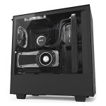 NZXT H500I - Compact Atx Mid-tower PC Gaming Case - Rgb Lighting And Fan Control - Cam-powered Smart Device - Tempered Glass Pan