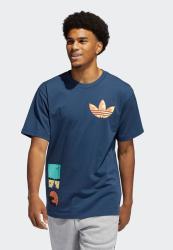 Adidas Original Surreal Summer Graphic Tee - Crew Navy