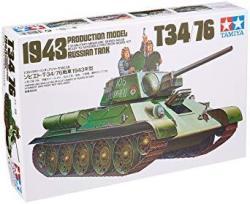 Tamiya Models Russian T-34 76 Tank