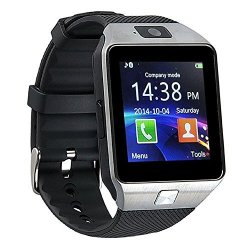 Wooboo DZ09 Bluetooth Smart Watch Wristwatch With Camera Anti-lost Activity Tracker For Iphone 6 7 P