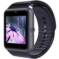 Cnpgd U.s. Warranty All-in-1 Smartwatch And Watch Cell Phone Black For Iphone Android Samsung Galaxy Note Nexus Htc Sony