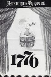 "USA George HEARN""1776"" Rex Everhart patrick Bedford 1970 Saint Louis Playbill"