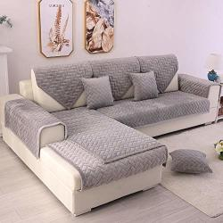 Tewene Couch Cover Sofa Cover Couch Covers Sectional Couch Covers Anti-slip Sofa Slipcover For Dogs Cats Pet Love Seat Recliner