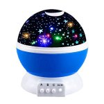DIMY Starry Night Light Projector 360 Degree Rotation- Best Gifts Blue