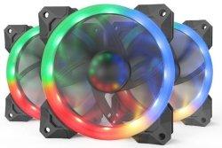 Redragon 3XRGB LED Fan