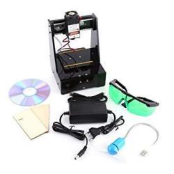 Laser Engraver Laser Engraving Cutter Laser Engraving Machine 100-240V 2000MW USB Laser Engraving Printer With Protective Glasse