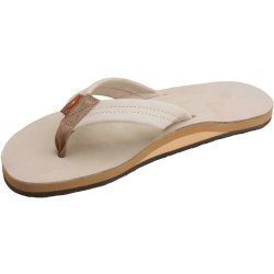 7e025f1120cb Rainbow Sandals Men s Single Layer Premier Leather Sandal With Arch Support  Sand Xxx-large Us