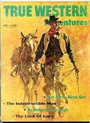 True Western Adventures Magazine April 1960- Tom Horn Vg