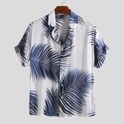 HELLOSAY Mens Astronaut Printed Tees Shirt Summer Short Sleeve T-Shirt