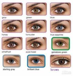Green Transer Macaron Contact Lens Case Double Box Mini Beauty Pupil Rre Box