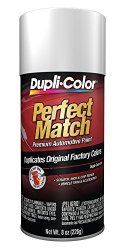 Dupli-Color BUN0300 Universal White Perfect Match Automotive Paint - 8 Oz. Aerosol