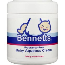 Bennetts Baby Aqueous Cream Pump 500ml Fragrance Free