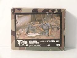 Verlinden PRODUCTIONS-1 35 Scale Ww II German Stug Crew -resin Miniature