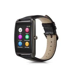 "Le Pan L11-GUNMETAL 1.6"" Touchscreen Smartwatch For Android And Ios Gunmetal"