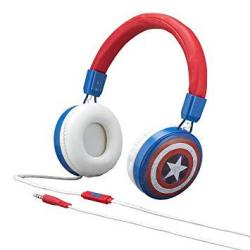 Captain America Classic On Ear Fashion Headphones