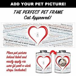 Giftable Invisibles Cat Quote Picture-frame Label For Keepsake Cans. Premium Photo-ready Label For Applying To Cans