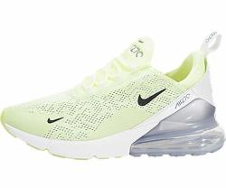Nike Women's Air Max 270 Barely Volt black summit White Nylon Casual Shoes 7.5 M Us