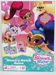 Peppa Pig Shimmer & Shine Animated Memory Match Game