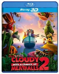 Cloudy With A Chance Of Meatballs 2 3D Blu-ray