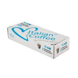 Nespresso Italian Coffee Decaffe Compatible Coffee Capsules - 50