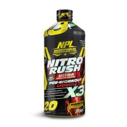 NPL Nutritional Performance Labs Nitro Rush Raspberry - 800ML