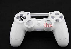 White Replacement Housing Shell Case Cover Compatible For Playstation Ps 4 PS4 Controller Dualshock 4