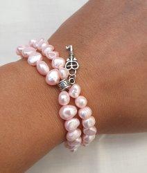 Baby Pink Fresh Water Pearl Bracelet