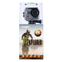Voyager - Explorer 4K Uhd Action Camera